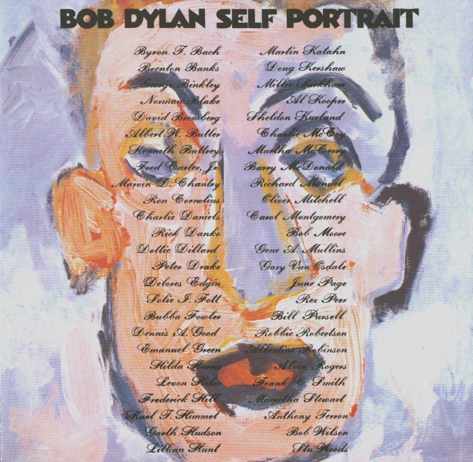 Self Portrait  Bob Dyl...
