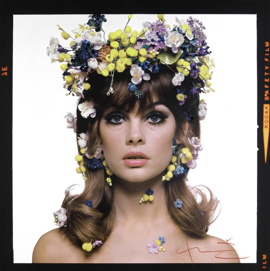 Vogue, 1965 - Jean Shrimpton by Bert Stern