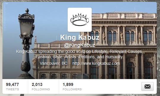 KingKabuz-twitterStats