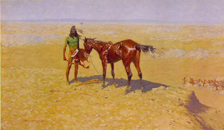 Ridden Down by Frederic Remington