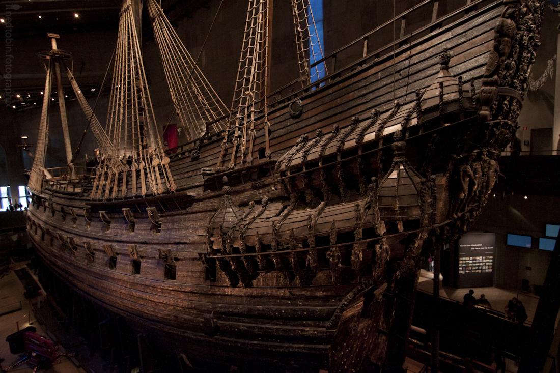 The Vasa Ship at the Vasa Museum, Stockholm, Sweden