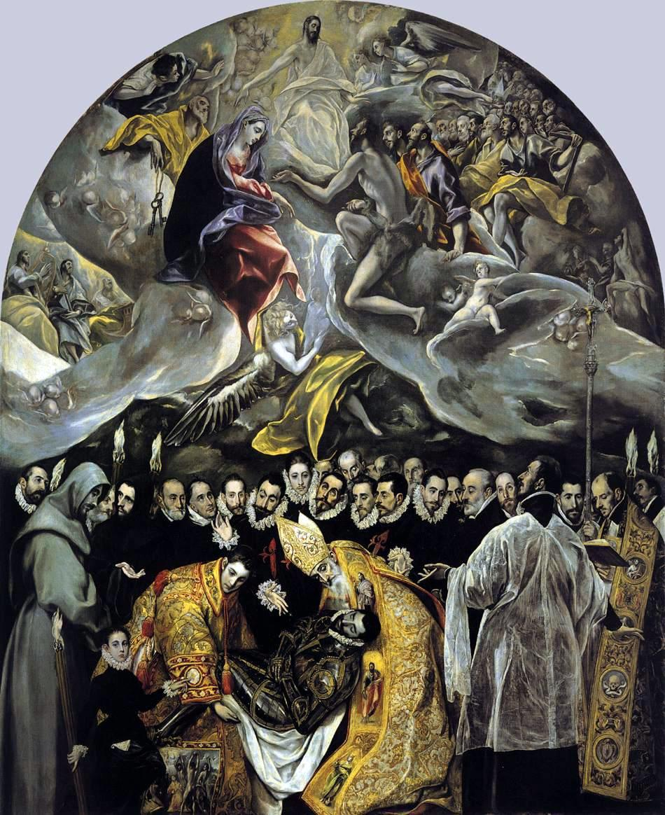 The Burial of Count Orgaz by El Greco