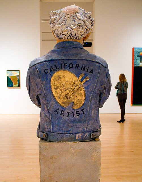 California Artist by Robert Arneson | Source: http://www.flickr.com/photos/danhontz/6208285096/