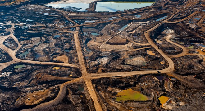 Northern Alberta Tar Pit #3