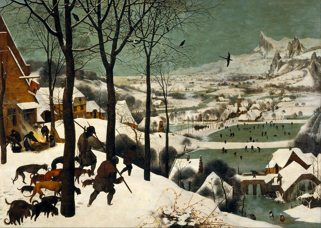 Pieter Brueghel the Elder - Hunters in the Snow - 1565