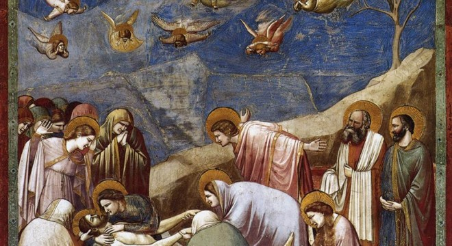 The Deposition by Giotto - 1305