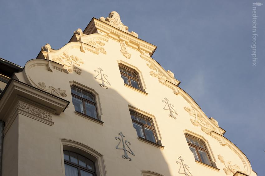 Art Nouveau, Riga, Latvia | source: Ned Tobin