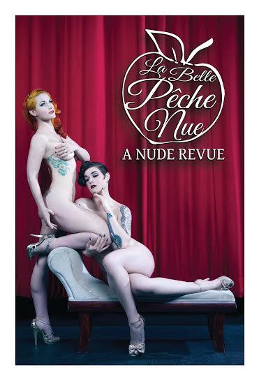 La Belle Pêche Nue - The Rio Theater - Lola Frost, Melody Mangler, Roxi D'Lite - Event Poster