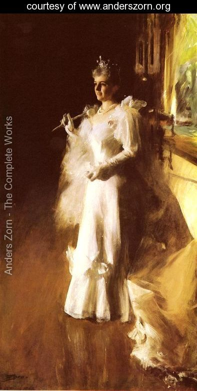 Mrs Potter Palmer by Anders Zorn