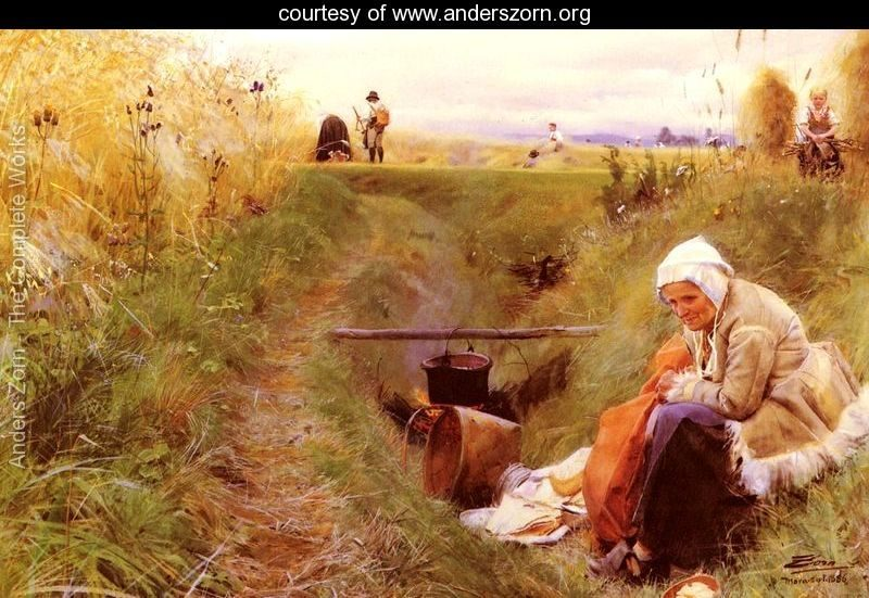 Vart Dagliga Brod (Our daily bread) by Anders Zorn